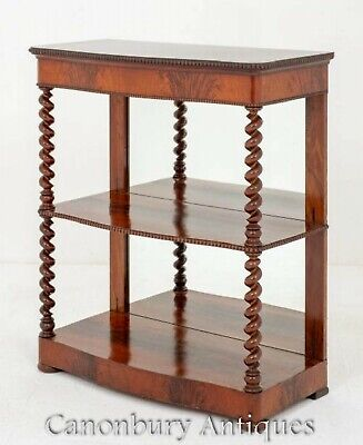 Victorian Dumb Waiter - Antique Bookcase 1880