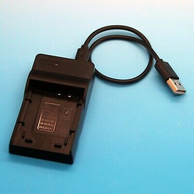 USB Battery Charger for Olympus Camedia C-1 C-2 C-21 C-21T C-40 C-55 Zoom LB-01