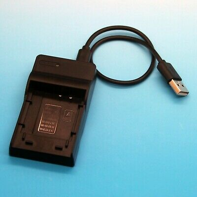 USB Battery Charger for Olympus Camedia D-370 D-380 D-390 D-395 D-425 D-435 New
