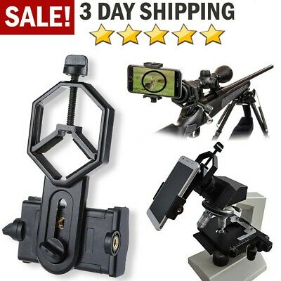 Phone Holder Adapter for Telescope Spotting Scope Rifle Phone Mount Microscope