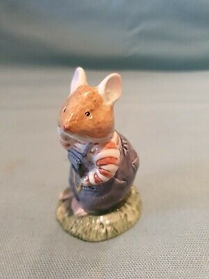 Royal Doulton Jill Barklem Brambly Hedge Wilfred Toadflax D.BH.7. Figurine GC