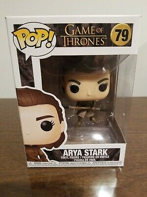 FUNKO POP! ARYA STARK with double spear 79 GAME OF THRONES Damaged package