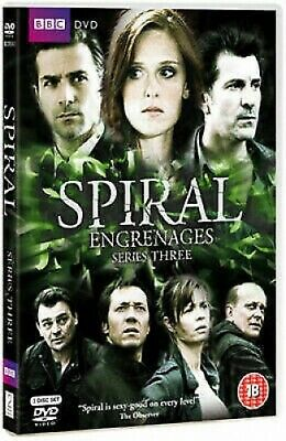 Spiral: Series Three - UK Region 2 DVD - Gregory Fitoussi