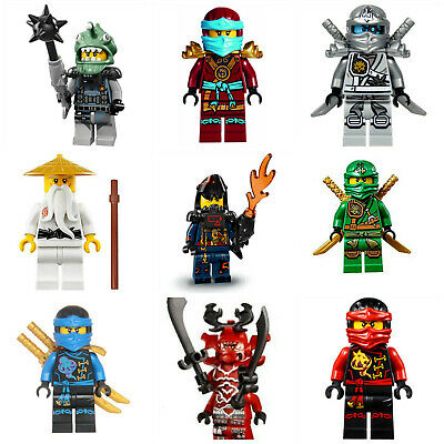 Lloyd,Kai,jay,Cole,Nya,Zane Mini Figures Lord Garmadon Pythor fits Ninjago lego