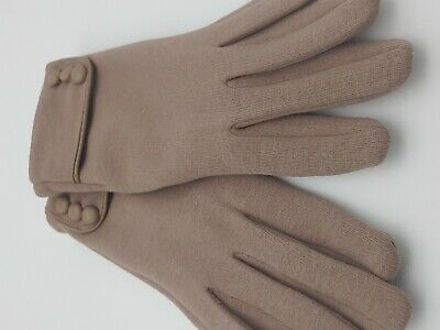 Womens Touch Screen Phone Fleece Windproof Gloves Winter Warm Wear