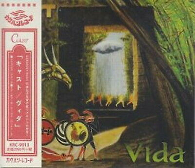 Cast-Vida-Import Digipak CD con Giappone Obi G85