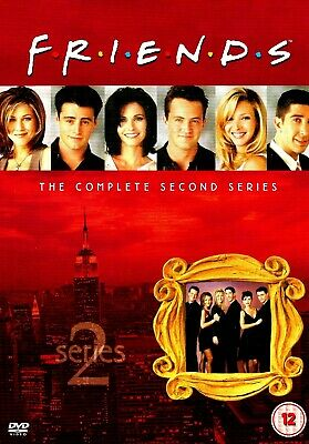 [DISCS ONLY] Friends - Complete Season 2 DVD TV Series Two