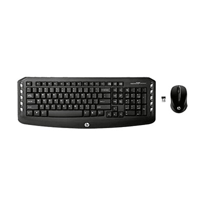 Hp Classic Desktop Wireless Keyboard And Mouse Lv290Aa#Aba