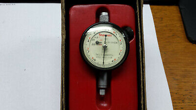 Starrett 1-111-624J Dial Indicator with Double Row Figure (.0001)Grad.