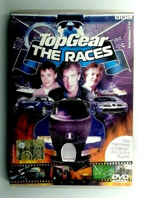 Top Gear The Races Film DVD Cinema Collezione Italiano DMAX Programma Televisivo