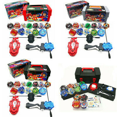 12PCS Beyblade Burst Evolution Kit Set W/ Arena Stadium Battle Toy Kid Xmas Gift