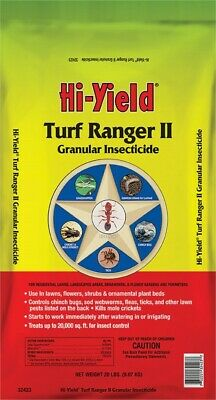 Hi-Yield  Turf Ranger II  Granules  Insect Killer for Lawns  20 lb.