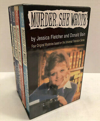 Murder She Wrote Book Collection Set  Mystery Jessica Fletcher