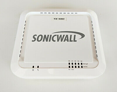 Sonicwall TZ 100 Router Firewall VPN Appliance -  USED in VGC