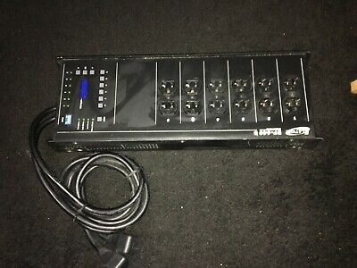 Elation DP-640B 6-Channel Dimmer, Relay Pack, DMX Lighting Control