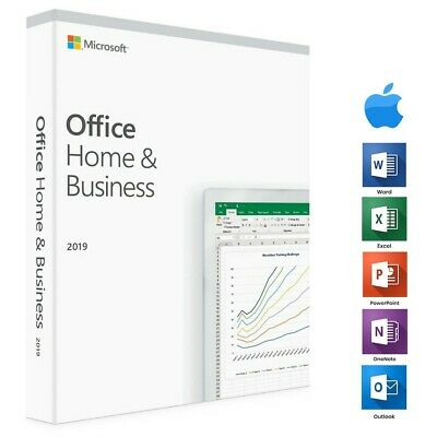 Microsoft Office 2019 Home & Business | For 3 Mac, Lifetime | Now On Sale