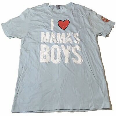 Womans Med Mama Makers T-shirt I Love Mama's Boys Next Level Apparel Baby Blue