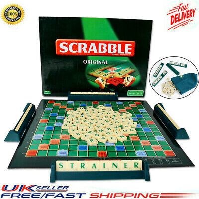 Original Scrabble Board Game Family Kids Adults Play Toys Puzzle Game Xmas Gifts