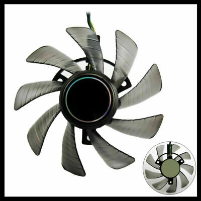 4Pin Fans Replacements for ASUS 85mm GTX 460 Gigabyte GTX 1060T129215SU DC 12V
