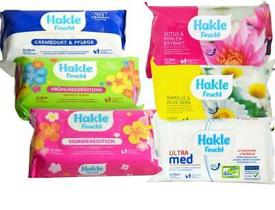 Hakle Moist Refill Pack - Smooth Wipes, 42 Sheet