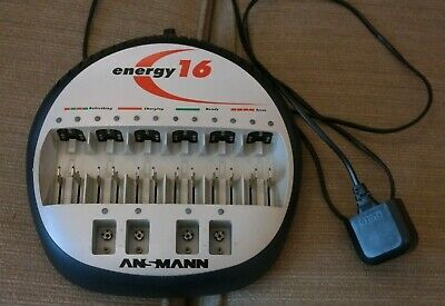 ANSMANN Energy 16 smart battery charger - GREAT CONDITION