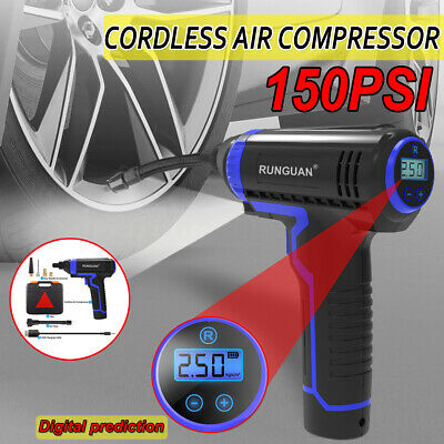 USB Rechargeable Portable Automatic Tire Inflator Car Tyre Compressor Air Pump