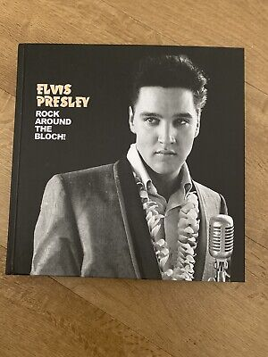 Elvis Presley Rock Around The Bloch Ftd Book With CD