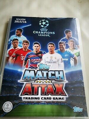 2015/16 Topps Match Attax Champions League Cards