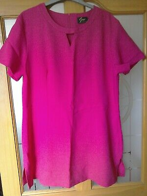 ladies pink beauty tunic size 18 by gear