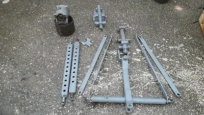 Massey Ferguson T Bar Pickup Hitch,  Belt Pulley, Stays.  Will sell separately