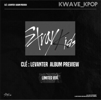 Stray Kids Cle : Levanter Limited New Sealed Album Cd+4 Cards+Pre-Orders+Posters