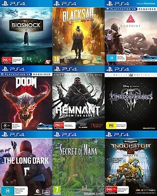 PS4 Playstation 4 Game - Choose Your Own Titles *Free Next Day Post from Sydney*