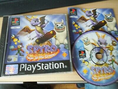 Sony PlayStation 1 Game * SPYRO YEAR OF THE DRAGON * Complete Retro Rare PS1