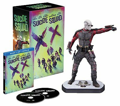 Suicide Squad 3D Blu-Ray Lenticular Digibook Limited Collector Edition, Deadshot