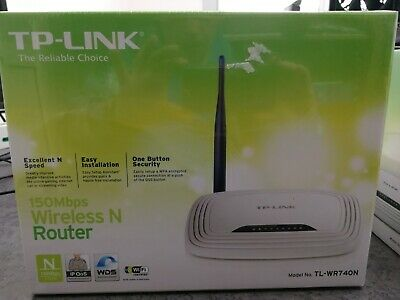Router Wireless 150Mbps Access Point 4 Porte LAN 100Mbps TP-LINK TL-WR740N