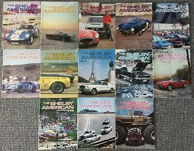 SAAC 13 x Shelby American Automobile Club Magazine The Shelby American
