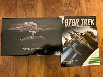 Altamid Swarm Ship (Eaglemoss Star Trek Collection Special Issue) New In Box