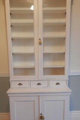 Georgian/Victorian Bookcase And Drawers - Large - Restored - Vgc - Pick Up Only!