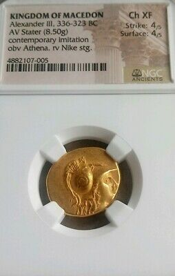 Athena & Nike Alexander the Great Gold Stater Short