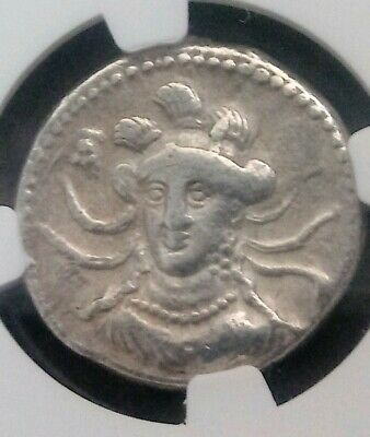 Cilicia, Tarsus Balakros Stater NGC Choice Fine Ancient Silver Coin Satrap