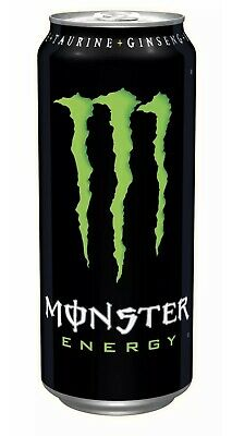 Monster Energy Original Drink Cans - 24x500ml (Bargain) (PM £1.35)