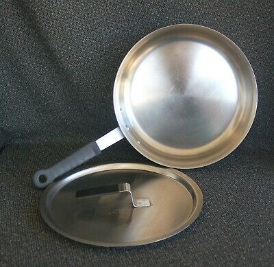"VOLLRATH NSF 10"" #69810 HD Commercial Stainless Steel Fry Pan/Skillet Lid 69410"