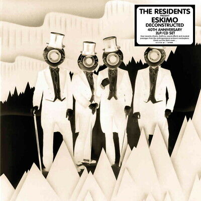 Residents-Eskimo Deconstructed-Import 2 LP+CD con Giappone Obi O36