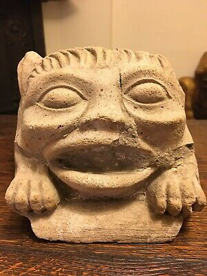 Medieval Carved Corbel / Grotesque