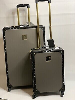 VINCE CAMUTO JANIA 2PC LUGGAGE SET 8082C36 8082C34 28HQ 18HQ MSRP $720 Free Ship