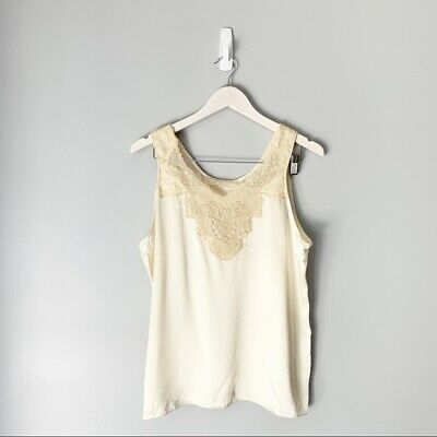 Peggy Jennings Cream Lace Camisole Lingerie Top