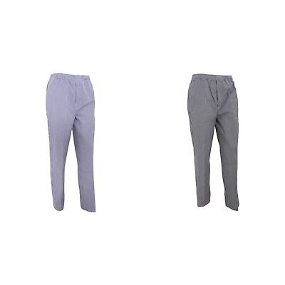 Premier Unisex Pull-on Chefs Trousers / Catering Workwear (Pack of 2) (RW6826)