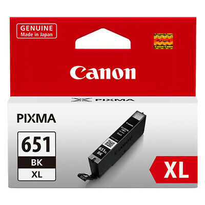 CANON Genuine PG650XL Black/CLI651XL Colours High Yield Value Pack Ink Cartridge