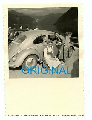 AUTO VW KÄFER ALTE ANSICHTSKARTE ORIGINAL POSTCARD CAR VW BEETLE m1317