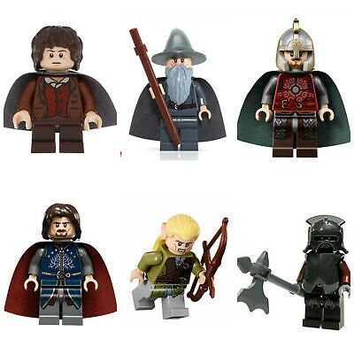 Lord Of The Rings Hobbit Bromir Mini Figures Orcs Aragorn,Frodo,Gandalf,lego las